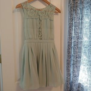 BCBGeneration mint lace dress